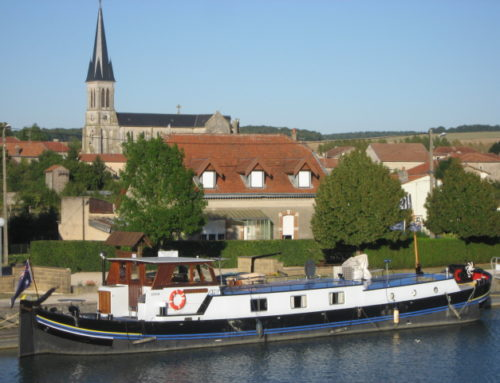 We are now back in France, I am excited, but our last visit to France was not to be envied!