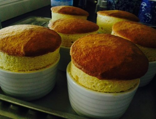 'The Ridge' mango soufflé