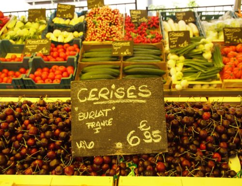Market day – every day – here as well as in France