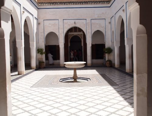 Marrakesh is also about history and architecture as well as its food