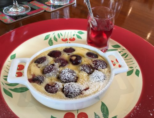 Cherry clafoutis – a perfect summer and festive dessert